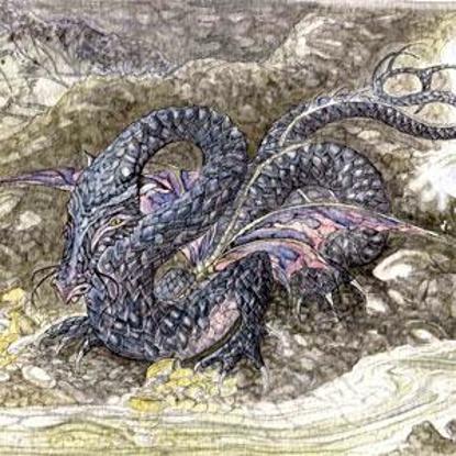 Picture of The Dragon of Castle Neroche